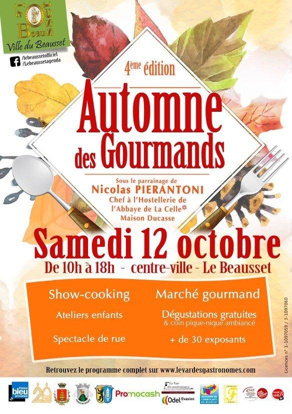 4ème édition de l'Automne des gourmands !