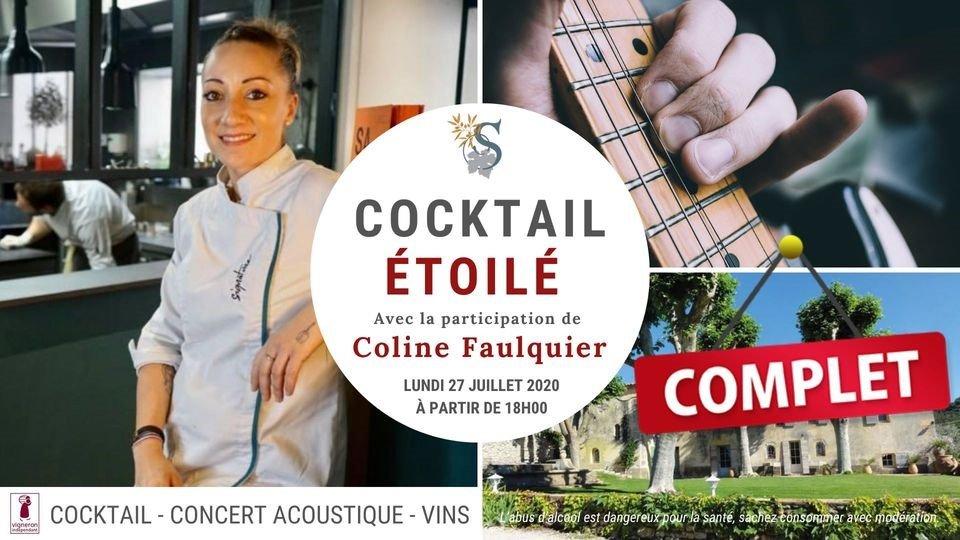 Cocktail étoilé au Domaine Souviou